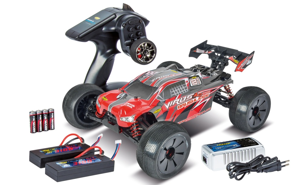 Carson Virus Pro 4.0 Truggy BL 2.4GHz 100%RTR 1:8