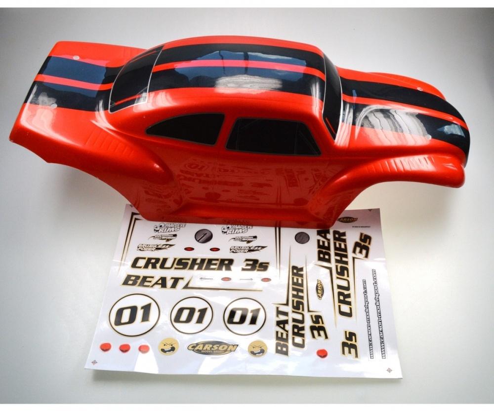 Carson X8 Beat Crusher 3S 4WD Karosserie lackiert