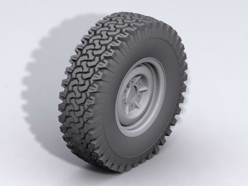 RC4WD Dirt Grabber Single 1.9 All Terrain Tire 1:10