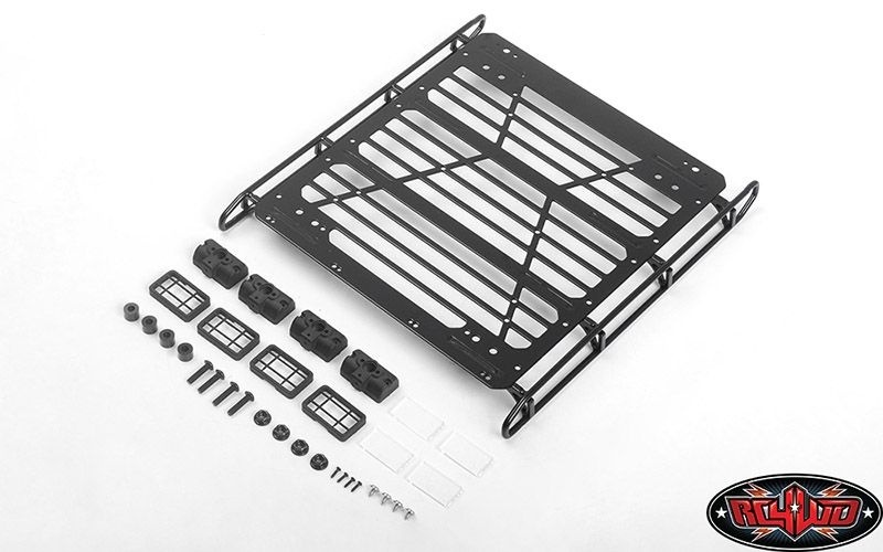 RC4WD Adventure Steel Roof Rack W/ Front and Rear