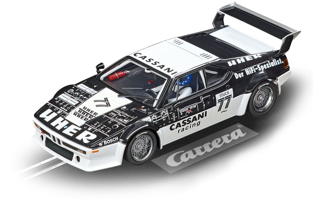 Carrera Digital 132 BMW M1 Procar Cassani Racing, No.77,