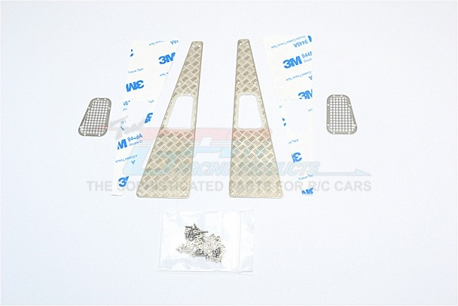 GPM TRX4 scale accessories: stainless steel slip proof tread