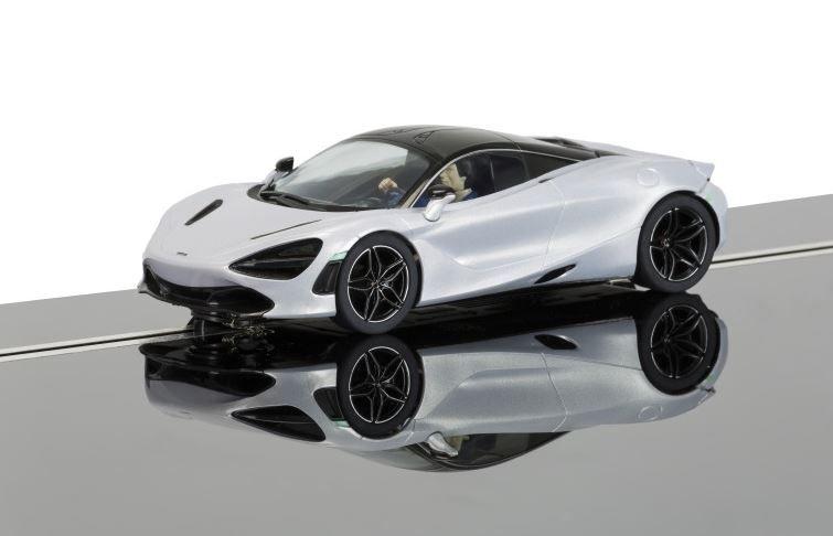 Scalextric 1:32 McLaren 720S, Glacier White HD