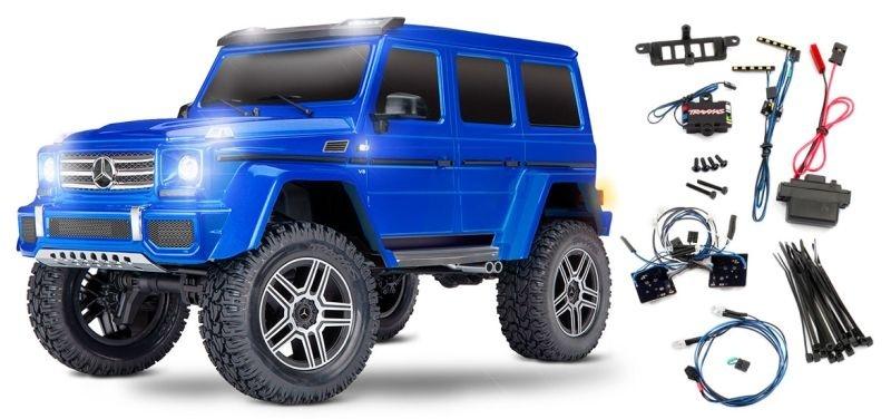 Traxxas TRX-4 Mercedes G 4x4 blau 4WD Scale-Crawler