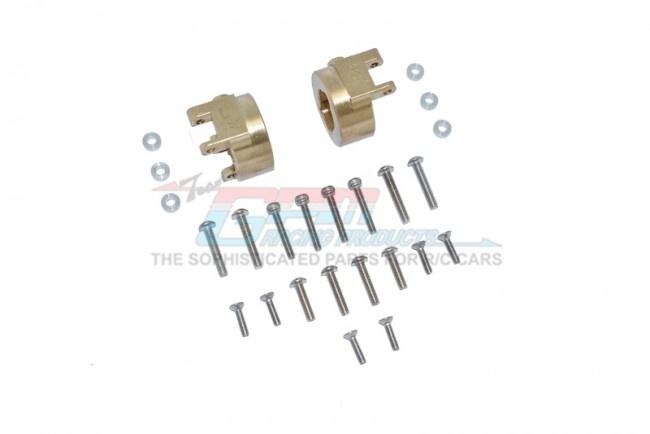 GPM Brass Rear Gear Box Mounts (Multiple Positioning Holes)