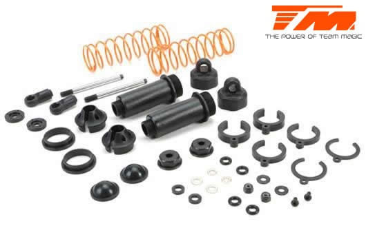 Team Magic Spare Part - E5 - Shock Absorber Set (2 pcs)