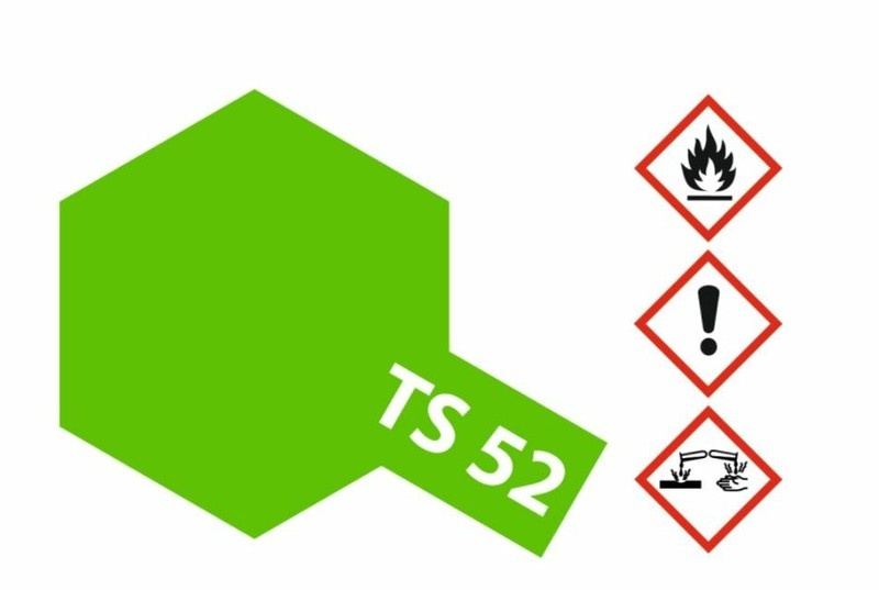 Tamiya Acryl-Sprühfarbe TS-52 Bonbon-Limet Grün(Candy) 100ml