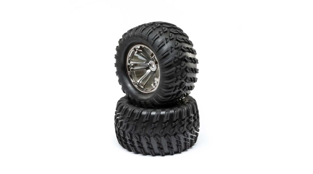 Losi Wheel and Tire Mounted (2): TENACITY T (LOS43018)
