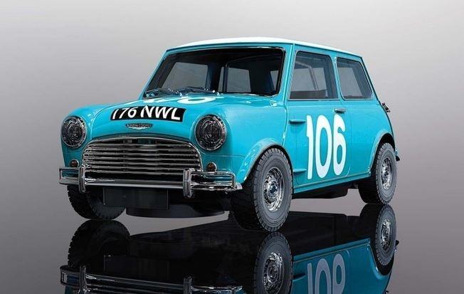 Scalextric 1:32 Mini Cooper 1962 Targa Florio HD