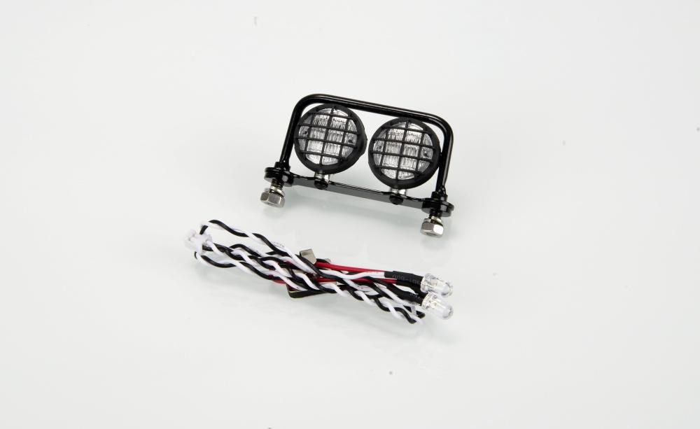 Carson Frontlampenbügel Vollmetall Offroad 2-fach 18 mm