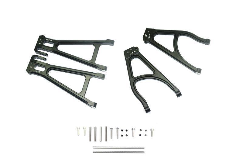 GPM Aluminium Rear Suspension Arm Set (Upper + Lower)