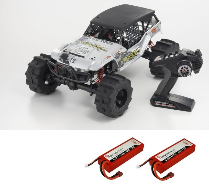 Kyosho FO-XX VE EP 4WD (KT231P) 2.4GHz RTR 1:8 --SPARSET 2--