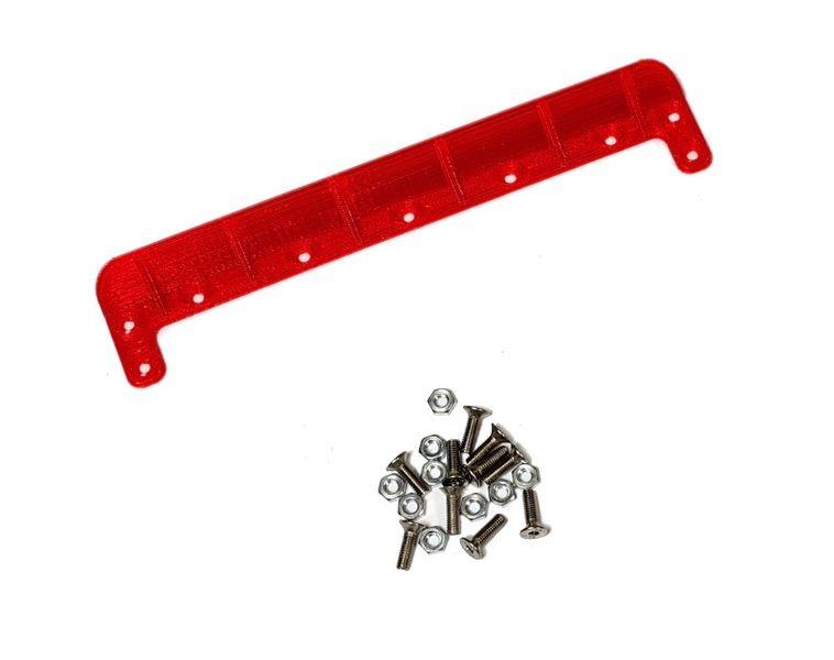 JS-Parts ultraflex Heckkante universal 140mm rot