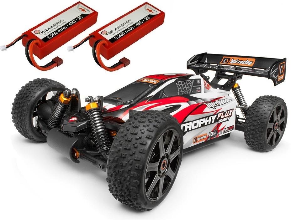HPI Trophy 4WD ElektroBuggy Flux 2.4GHz RTR 1:8 -SPARSET 1-