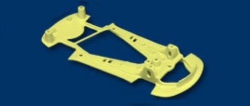 NSR Corvette C7R Chassis X-LIGHT YELLOW TRIANGULAR