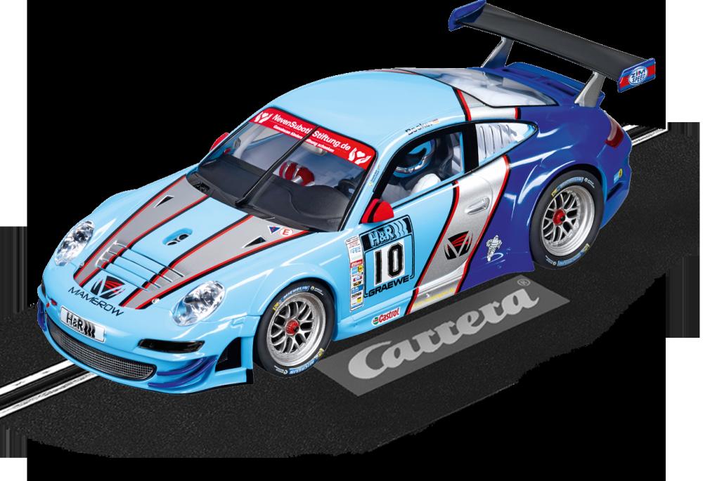 Carrera Digital 124 Porsche GT3 RSR Team Mamerow