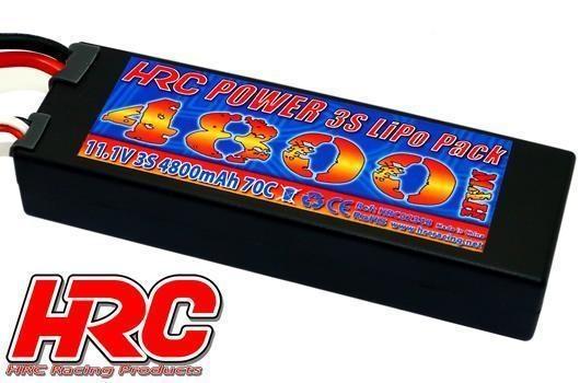 HRC Racing Akku - LiPo 3S - 11.1V 4800mAh 70C - RC Car -