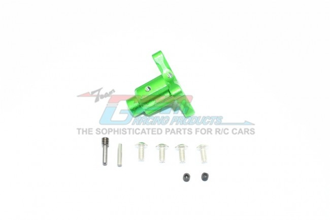 GPM aluminium front/rear/center differentials outputs - 9PC