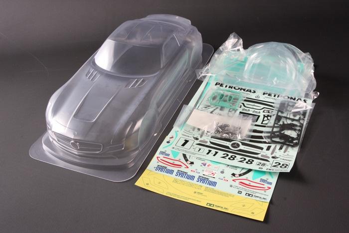 Tamiya Karosserie-Satz Petronas SLS GT3