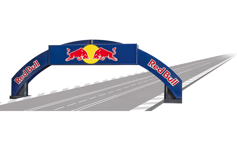 Carrera Rennbogen Red Bull