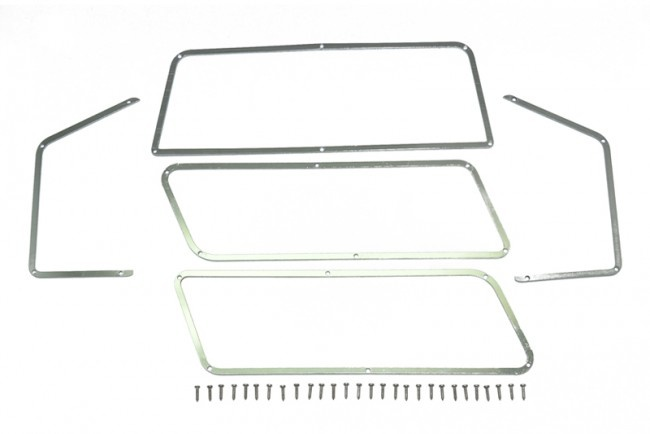 GPM scale accessories: stainless steel window frame for