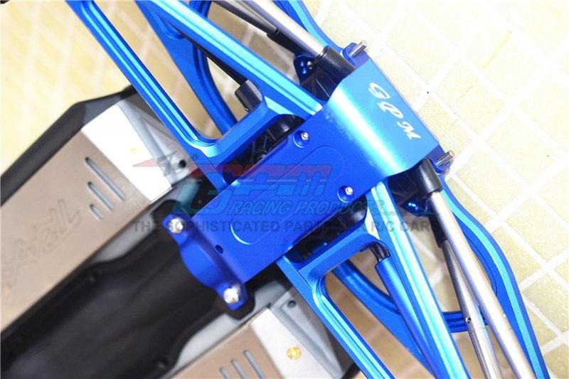GPM aluminium rear skid plate 1PC Set for Traxxas Revo