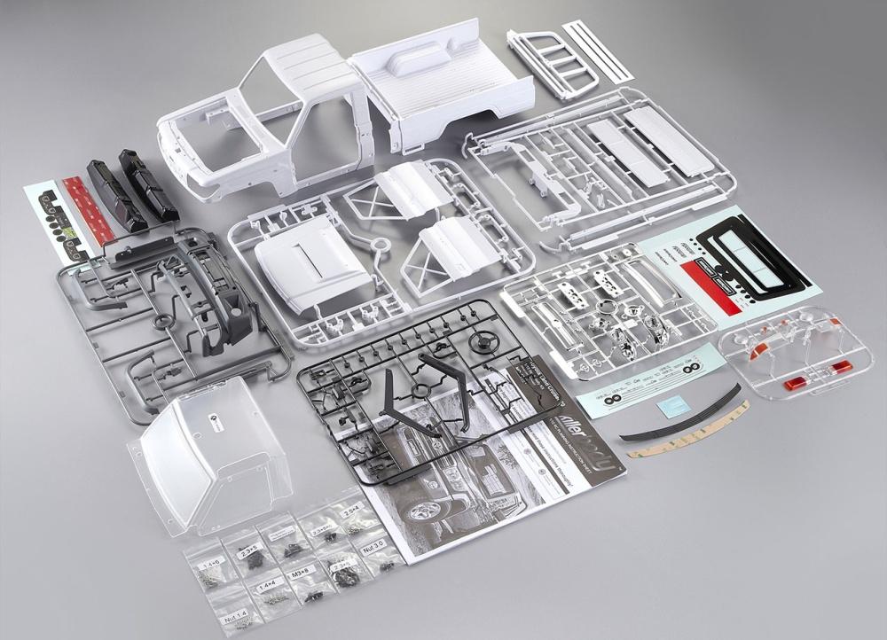 Killerbody Toyota Land Cruiser 70 Kunststoff Bausatz LC70