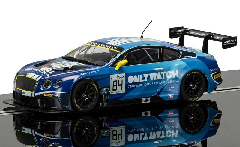 Scalextric Bentley Continental GT3 #84 Blue HD