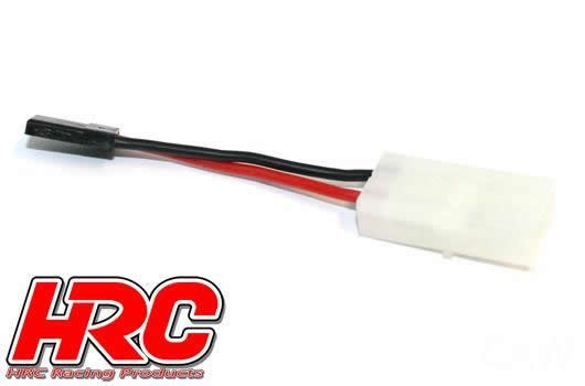 HRC Racing Adapter -  Tamiya Buchse zu JR Stecker