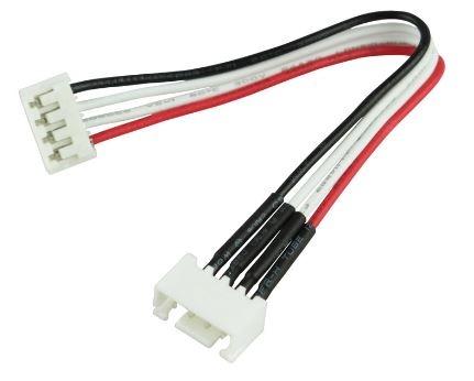 Balancer-Adapter XH Stecker <=>EH Buchse 3S 10cm