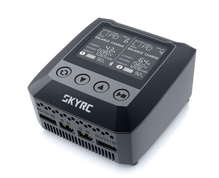SKYRC B6 Nano DUO AC Ladegerät LiPo 1-6s 15A 200W