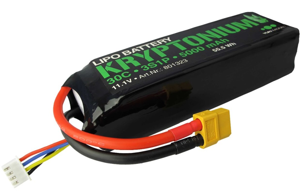Yuki Model KRYPTONIUM LiPo 3s1p 11,1V 5000mAh 30C XT60
