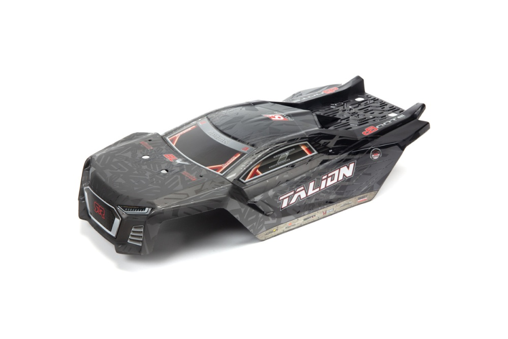 Arrma Talion 6S Blx Painted Decaled Trimmed Body Black