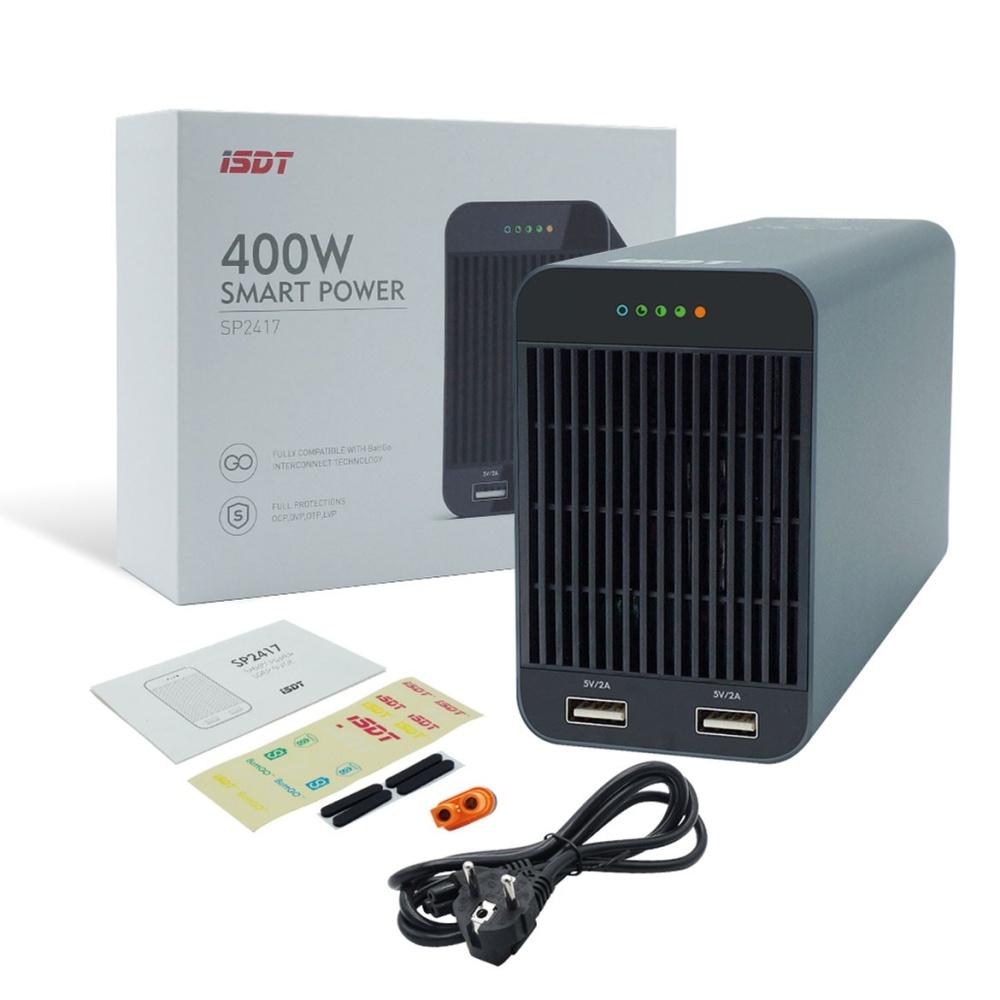 ISDT SP2417 24V Smart Power Netzgerät 400W mit BATTGO