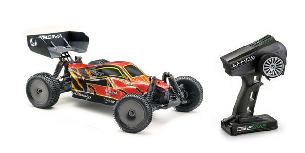 Absima EP Buggy AB3.4 4WD 2.4GHz Brushed Elektro Buggy