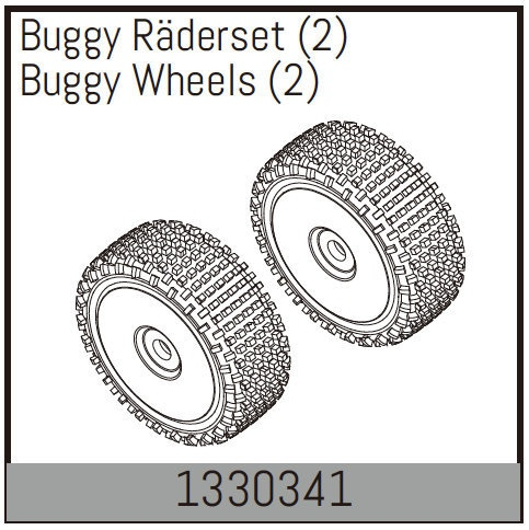 Absima Buggy Räderset (2)