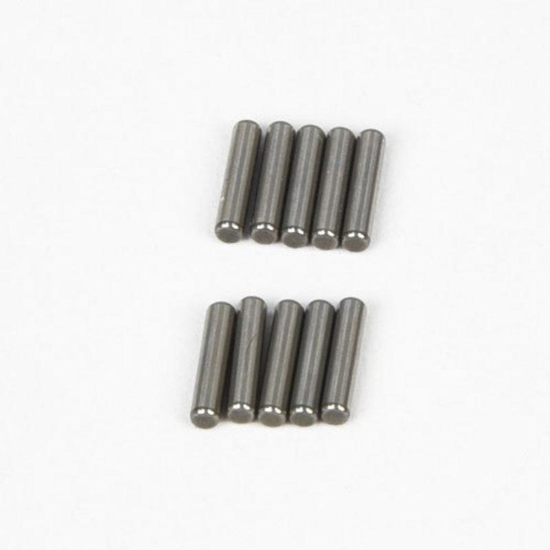 Thunder Tiger Zylinderstifte 2x10 mm, Stahl, für Jackal