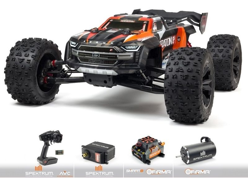 Arrma 1/5 KRATON 4X4 8S BLX Brushless Speed Monster Truck