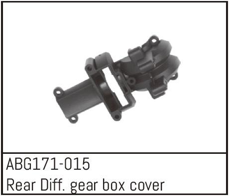 Absima Rear Differential Gear Box Cover