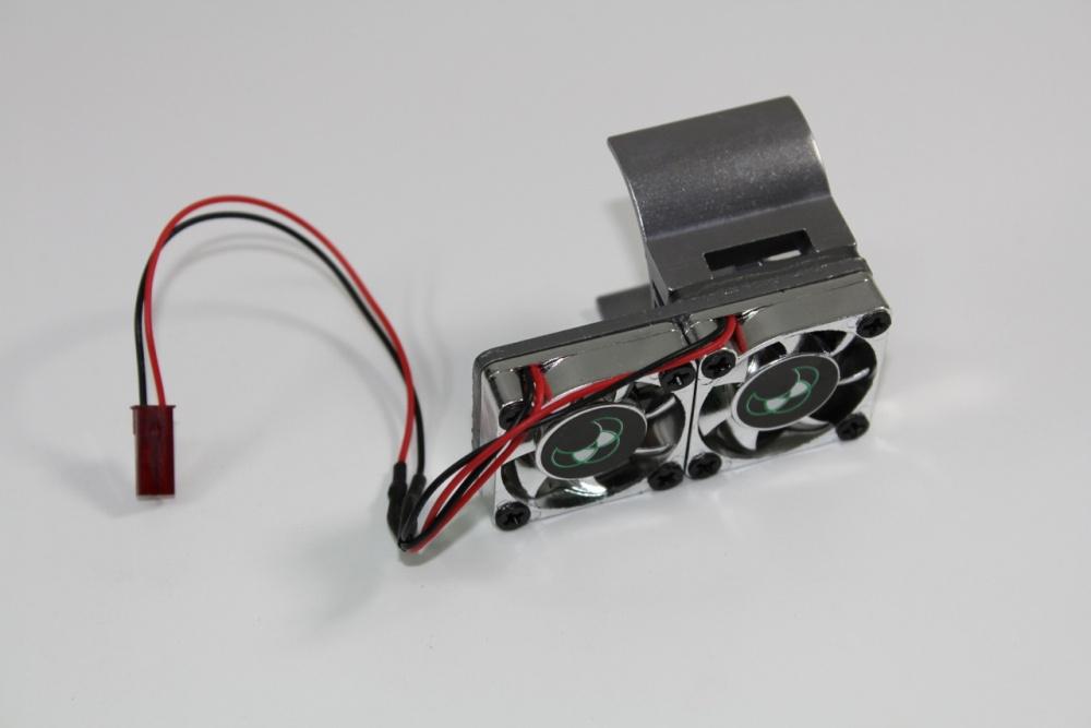 Absima Kühlkörper 540 mit Doppellüfter Version 3