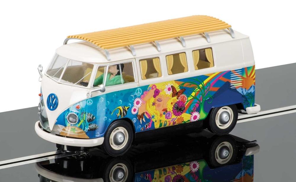 Scalextric VW Bus Hippie