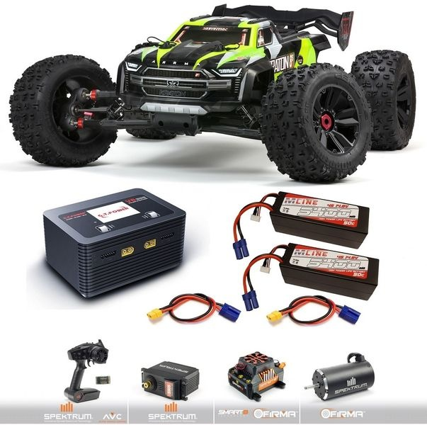 Arrma 1/5 KRATON 4X4 8S BLX BL Speed Monster Truck RTR
