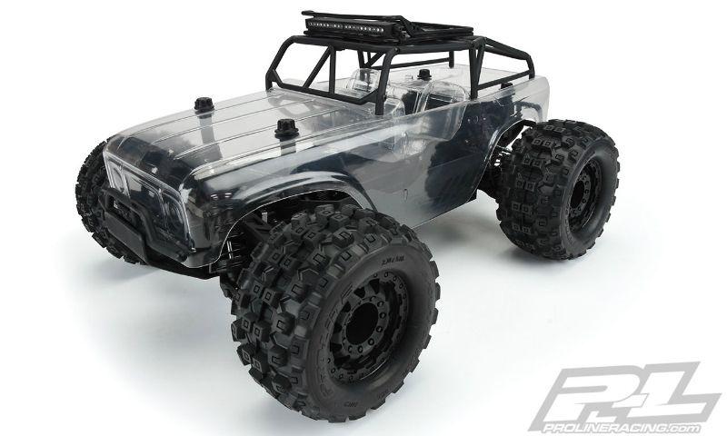 Pro Line Ambush-MT 4X4 m. Trail Cage-Truck Pre-Built Roller