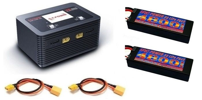 GT-POWER V6 Duo Charger AC/DC 16A 2x 200W --SPARSET--