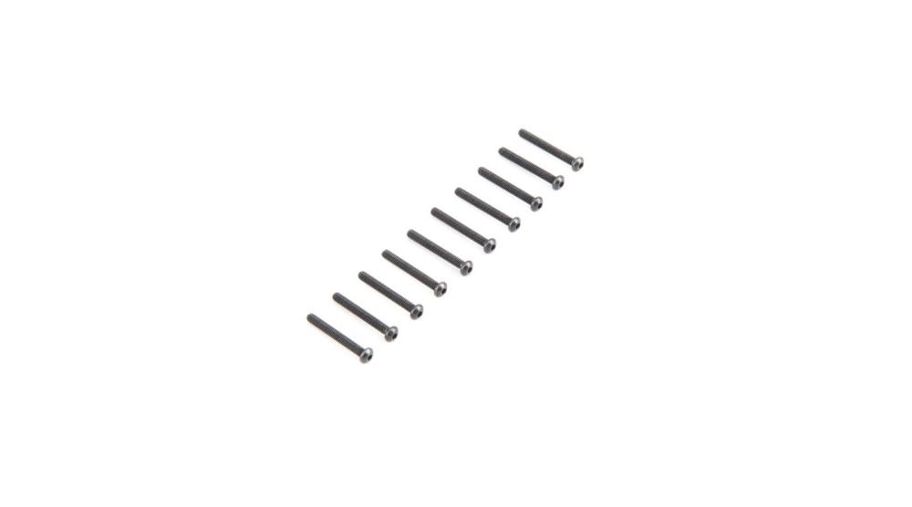 Losi Button Head Screws M2.5x 20mm (10) (LOS235006)