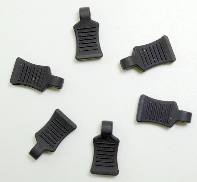 Absima Gummi Splint - Grip, schwarz (6)