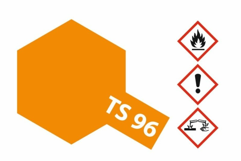 Tamiya Acryl-Sprühfarbe TS-96 Neon-Orange glänzend 100ml