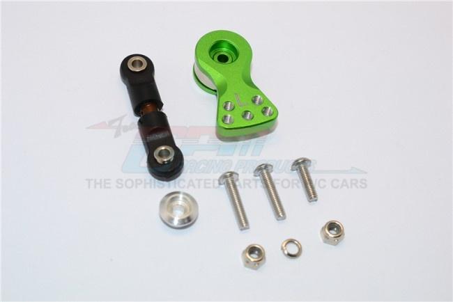 GPM spring steel anti-thread tie rod with aluminium servo