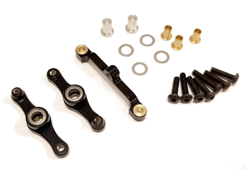 GPM alloy steering assembly with bearing-