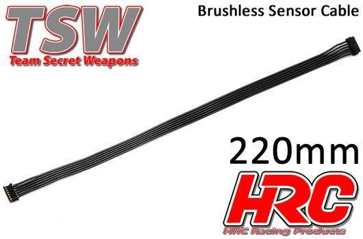 HRC Racing Brushless Flach Sensorkabel - TSW Pro Racing -